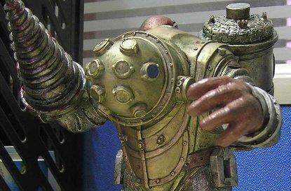 First look at the Bioshock LE Big Daddy figurine