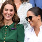 Kate Middleton Consoled Meghan Markle at Wimbledon When Serena Williams Lost