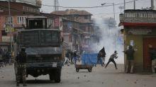Fighting in Kashmir city leaves 3 combatants, civilian dead