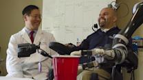 Brain Implant Allows Paralyzed Man to Take a Drink