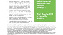 Herbalife Nutrition Achieves Net Sales Growth of 15% in the Third Quarter, Establishes New $1.5 Billion Share Repurchase Program, Provides Initial Full Year 2019 Guidance