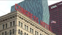 Strike at Congress Plaza Hotel ends after 10 years