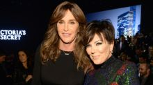 Caitlyn and Kris Jenner Unintentionally Match in Identical White Bandage Dresses