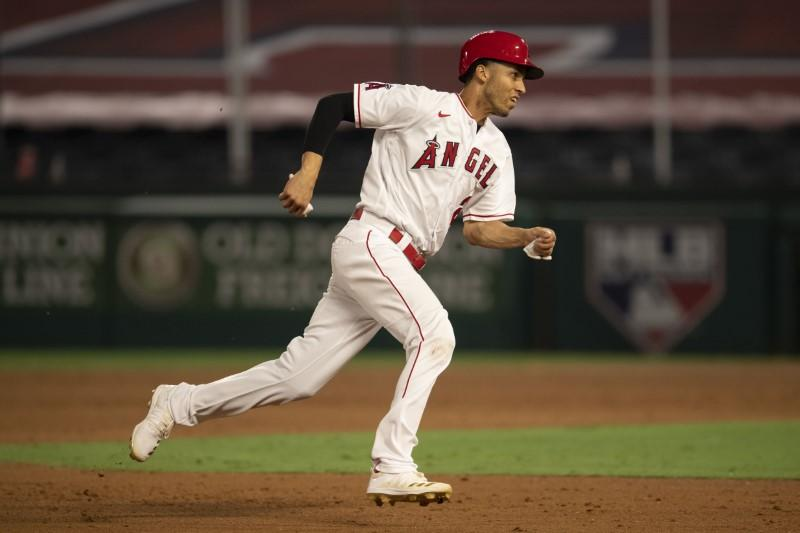 Angels SS Simmons opts out of final week
