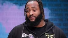 WATCH: Chiefs' Lucas Niang training at left tackle spot