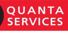 Quanta Services Reports 2017 Third Quarter Results