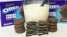Cadbury chocolate-covered Oreos exist and they're ace