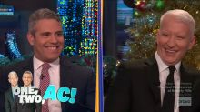 The Anderson Cooper and Andy Cohen blind date that was over before it started