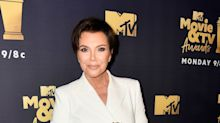 Kris Jenner's New Textured Bob Is Unlike Any Hairstyle She's Had Before