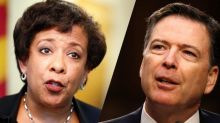 'That gave me a queasy feeling': Lynch told Comey not to call Clinton email probe an 'investigation,' he says