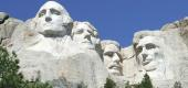 Mount Rushmore National Memorial in South Dakota. (Getty Images)