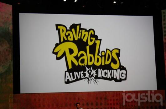 Raving Rabbids: Alive and Kicking for Kinect on November 8