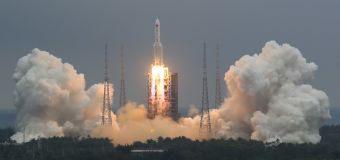 Where debris from Chinese rocket will hit is unknown