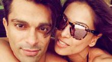 Bipasha Basu and Karan Singh Grover reunite on a beach to celebrate their first wedding anniversary