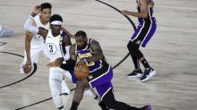 Conspiracy theories flying as Lakers lose to Pacers in limping to playoffs
