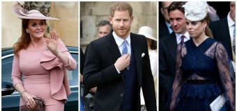 Harry suits up for royal wedding without Meghan