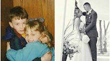 A rare birth defect brought these childhood sweethearts together