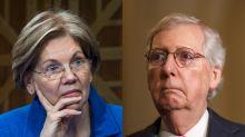 Elizabeth Warren slams Mitch McConnell for handling of coronavirus aid bill: 'Absolutely irresponsible'