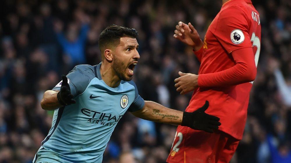Agüero apareció y el City rescató un positivo empate ante Liverpool