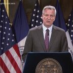 New York Mayor Bill de Blasio Addresses Protests Against Police Brutality