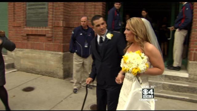 Marathon Bombing Survivor Gets Married At Fenway Park
