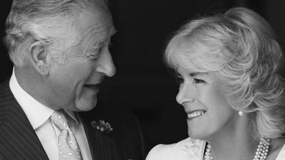Charles and Camilla share touching portrait to mark wedding anniversary