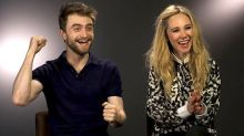 'Horns' Couple Daniel Radcliffe and Juno Temple Play a Game of 'Know Your Co-Star'