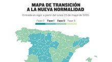 España se rompe: en qué fase están cada una de las provincias del país