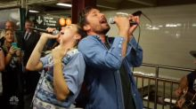 Miley Cyrus and Jimmy Fallon's Surprise Performance in NYC Subway