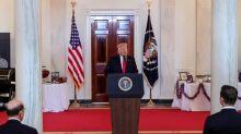 White House says economy 'roaring back,' touts safe coronavirus re-openings as cases soar