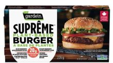 Gardein® Launches Suprême™ Plant-Based Burger--and it's about flipping time
