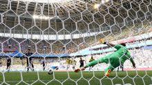 Japão abre placar contra Colômbia no início do jogo