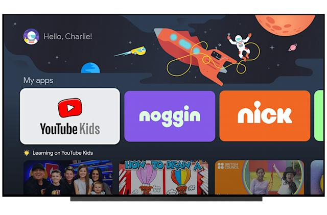 Google TV is getting kids profiles this month