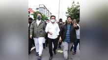 Hyderabad rains: KTR visits flood-affected areas, assures help to affected people