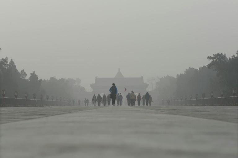 Last year, 117 of the 200 most polluted cities in the world were in China (AFP Photo/WANG ZHAO)