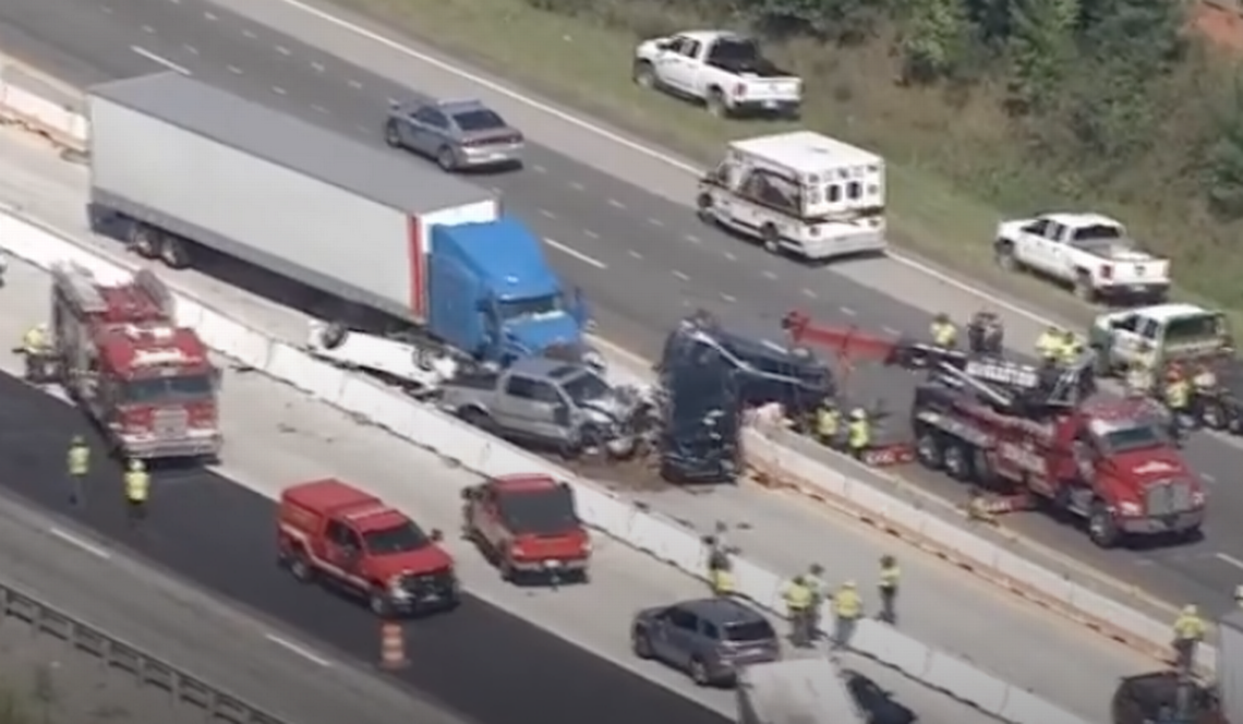 , 'Death trap.' Trucker, others being sued after 3 die in 7-car pileup on SC interstate, The Evepost National News