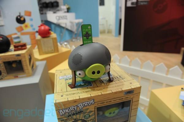 Angry Birds speakers are too adorable to slingshot