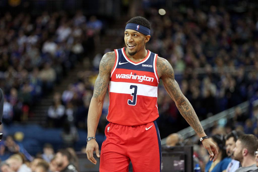 Bradley Beal does not think the Wizards are better without John Wall    That s absolutely nonsense  a5e1094fb