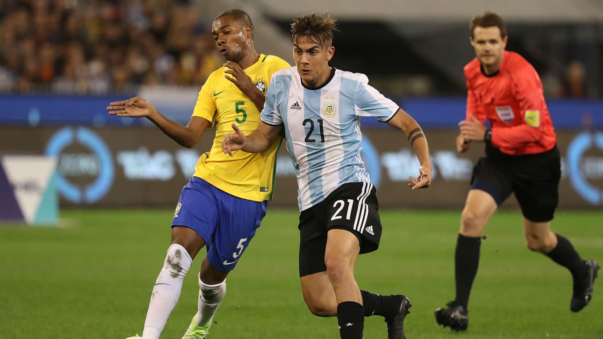 Argentina Vs Brasil: El Partido De Paulo Dybala Frente A Brasil