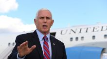 Mike Pence tries to blame outbreak of violence in Israel on 'power vacuum' created by Biden