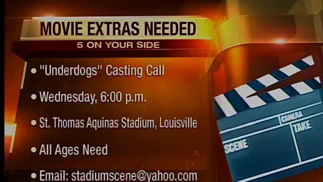 Movie auditions August 1