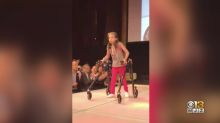 Teen with cerebral palsy to walk the catwalk at New York Fashion Week