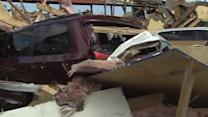 Cleanup underway after tornado slams Boston area