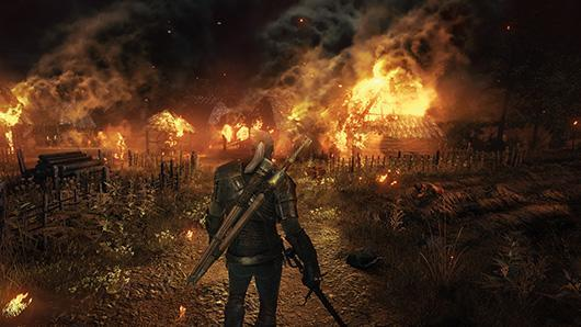 The massive, bloody world of The Witcher 3: The Wild Hunt