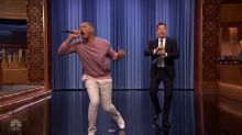 Will Smith and Jimmy Fallon hark back to the golden age of TV theme songs