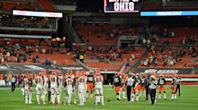 Fight breaks out at Browns-Bengals game despite limited crowd