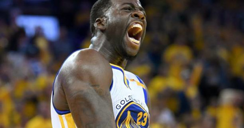 Basket - NBA - Draymond Green (Warriors) en vedette du top 5 de la nuit