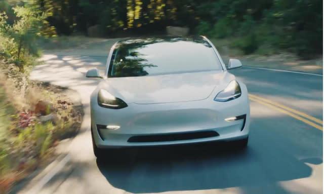 Tesla Model 3 gets new features via OTA update