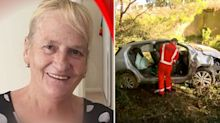 How police found grandmother trapped in car wreckage for 17 hours