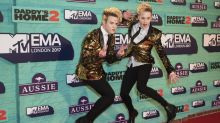 Jedward star Edward Grimes recovering after surgery